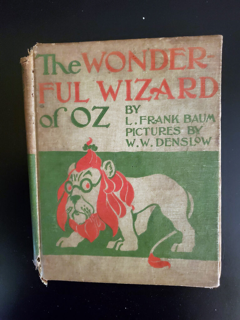 Wonderful Wizard of Oz - cover