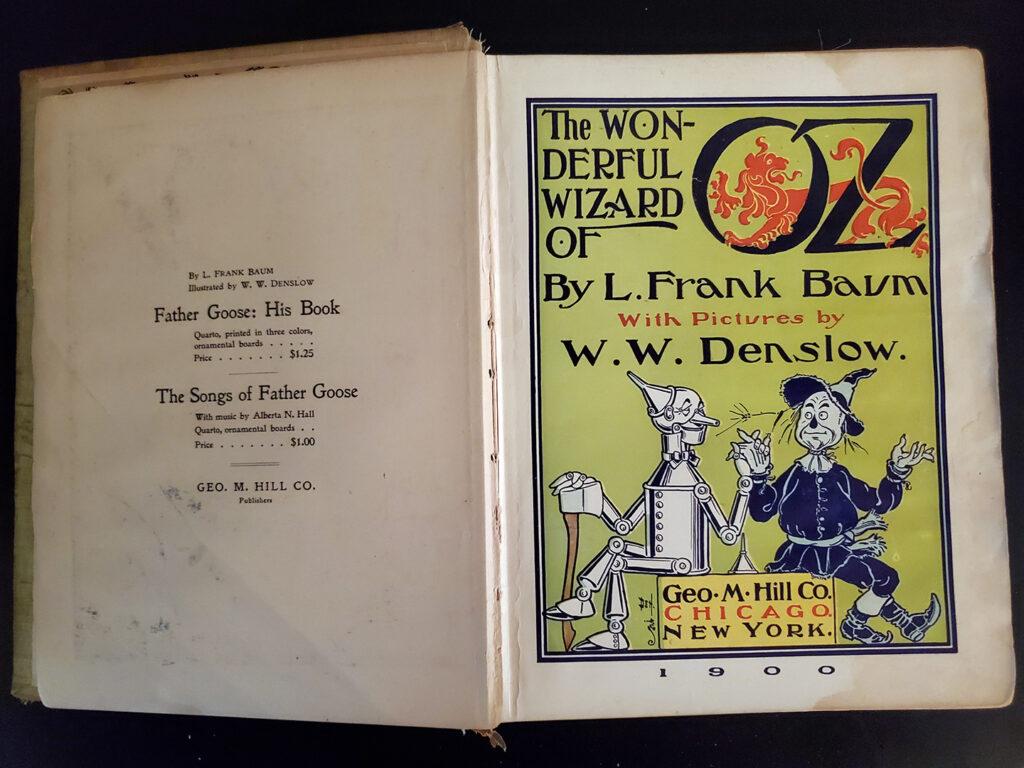 Wonderful Wizard of Oz - inside3