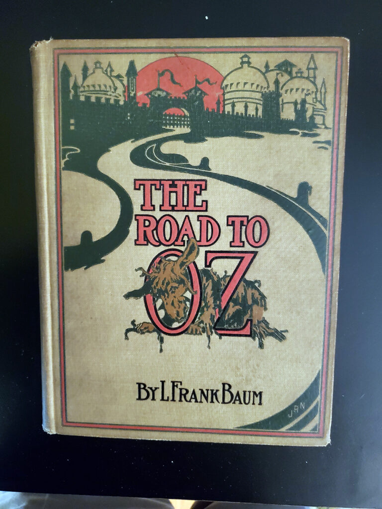 The Road to Oz - cover