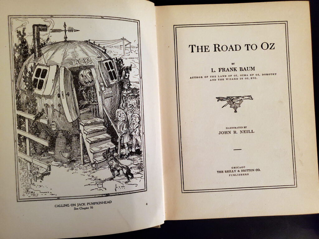 The Road to Oz - inside2