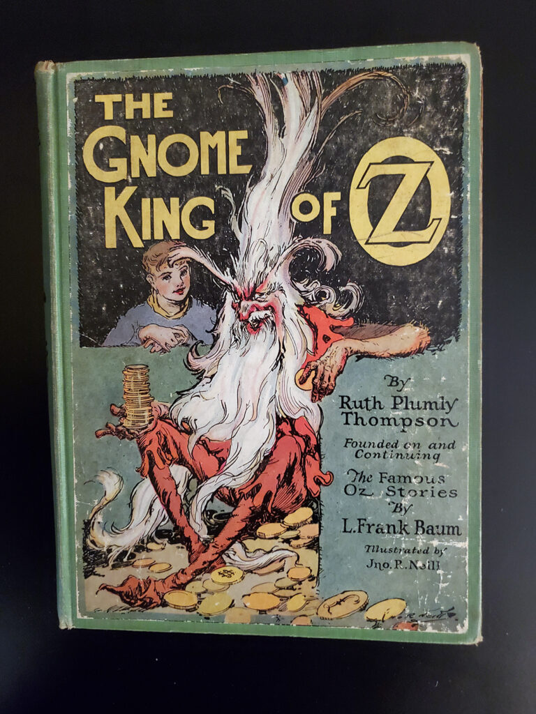 The Gnome King of Oz - cover