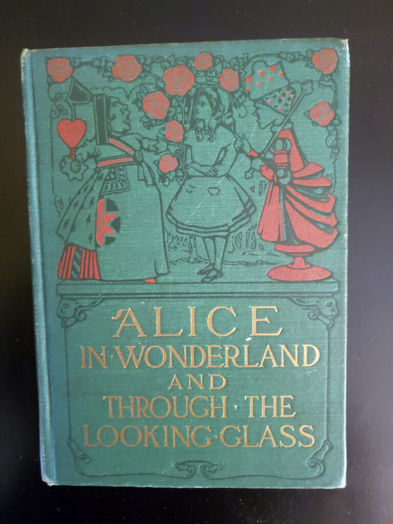Alice in Wonderland and Through the Looking Glass - cover