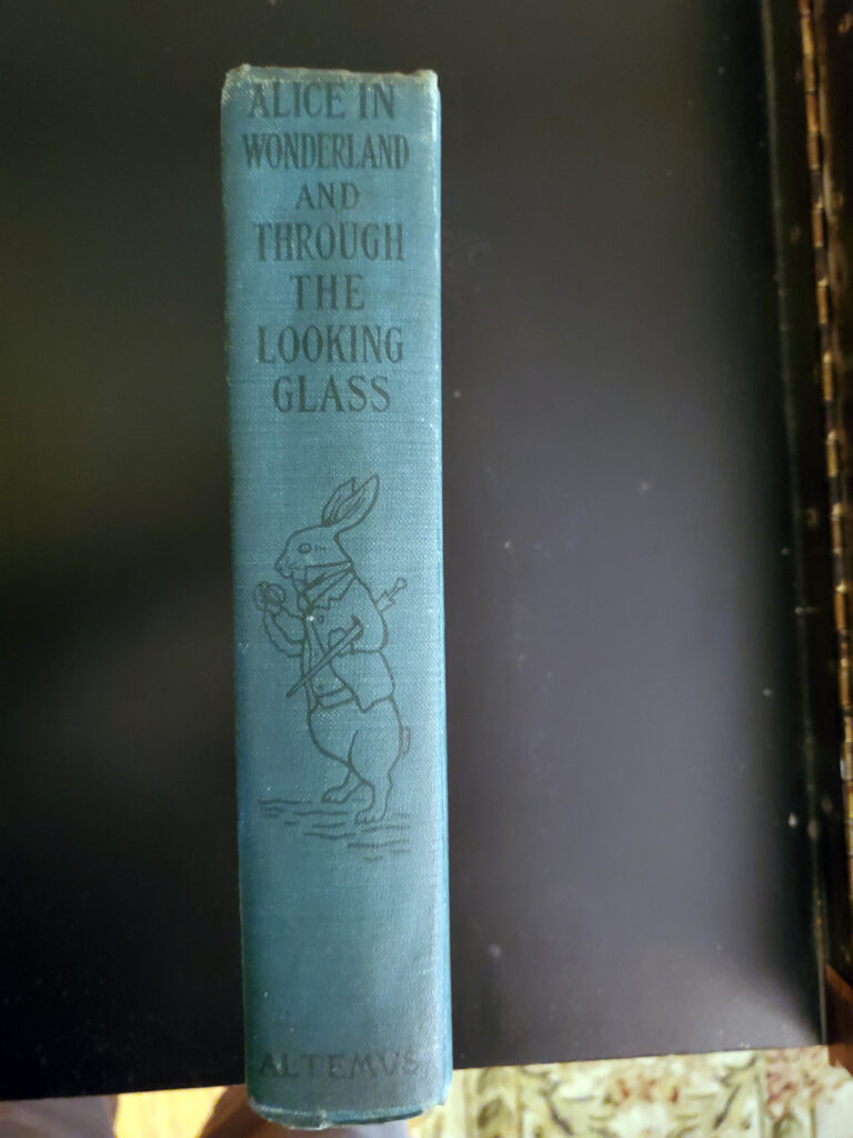 Alice in Wonderland and Through the Looking Glass - spine