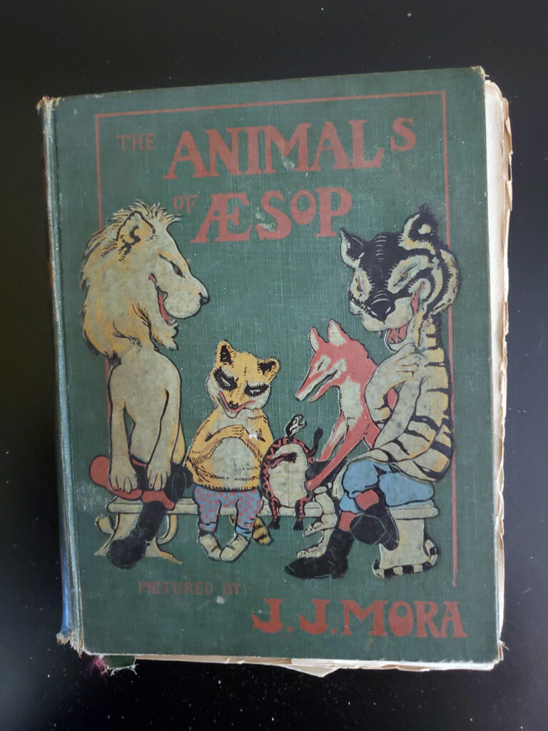 Ther Animals of Aesop - cover