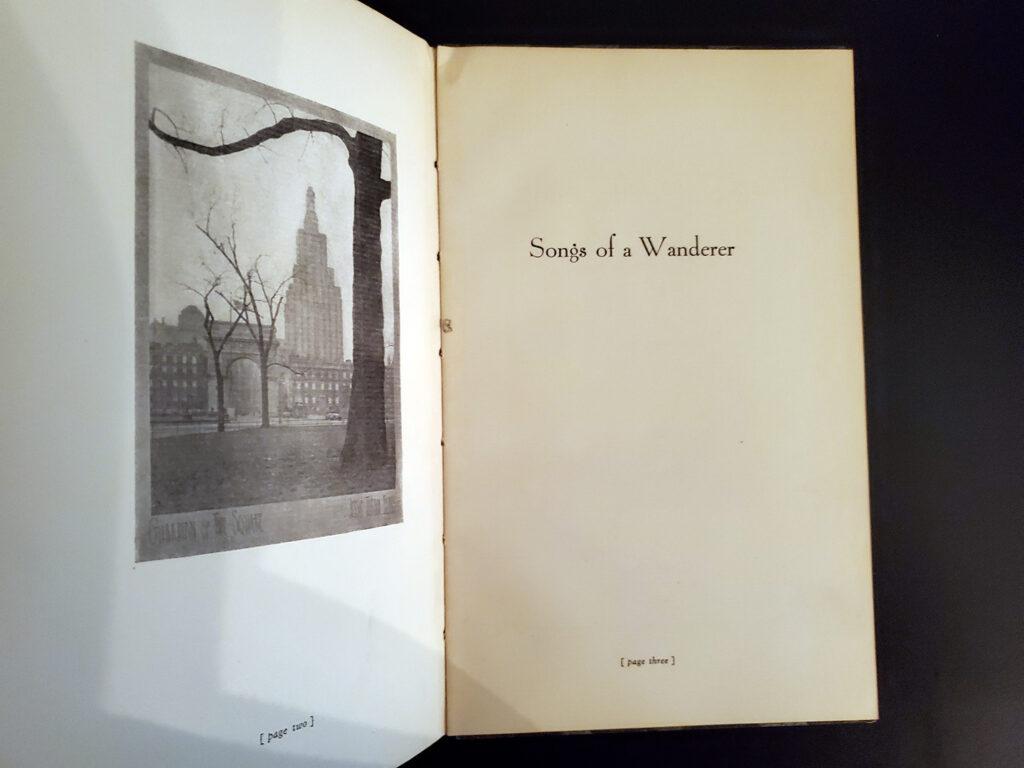 Songs of a Wanderer - Inside2